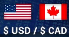 cad usd trading