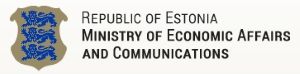 Ministry of Economic Affairs and Communications logo