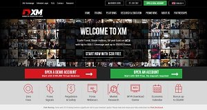 XM Group homepage