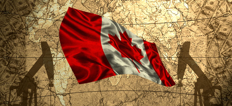 Oil trading in Canada