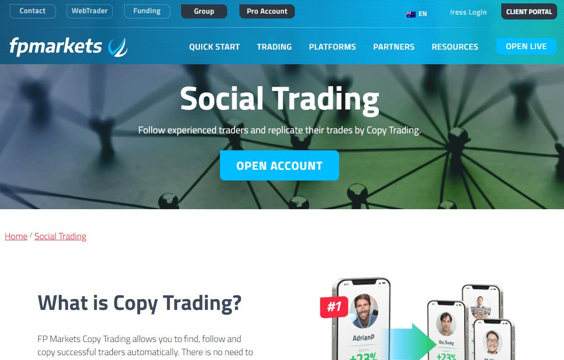 FP Markets Forex broker