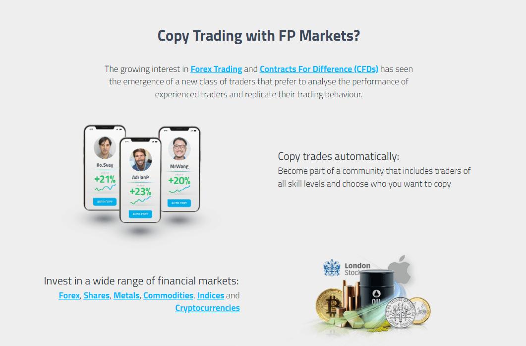 FP Markets Forex brokerage