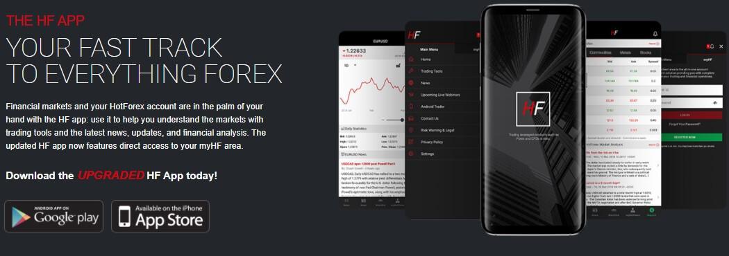 HF mobile application