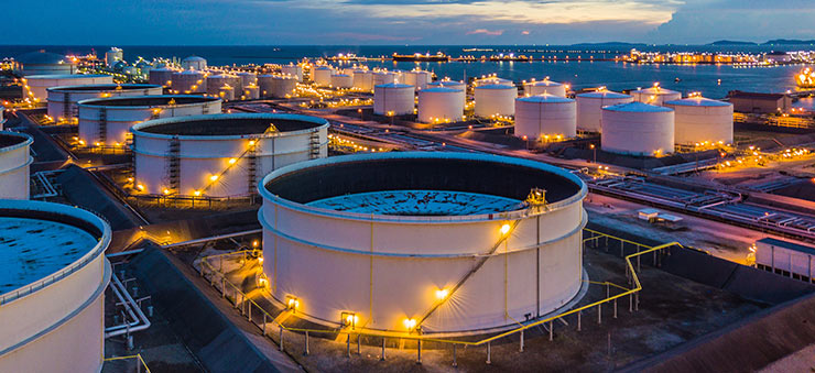 Oil commodity trading