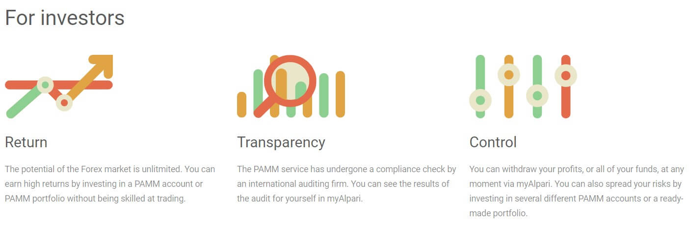alpari pamm services