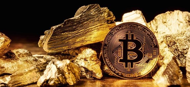Bitcoin/gold trading