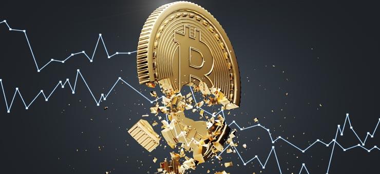 Bitcoin falling apart
