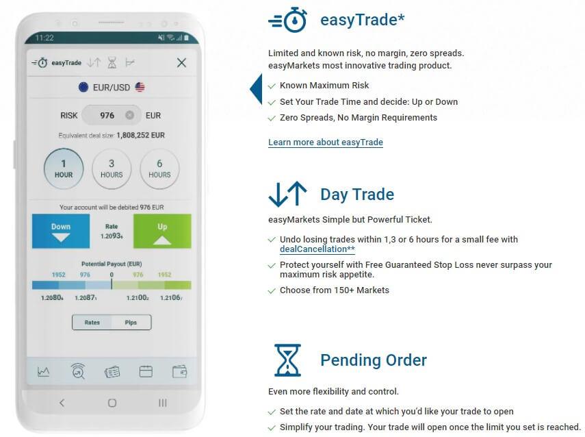 easymarkets mobile app