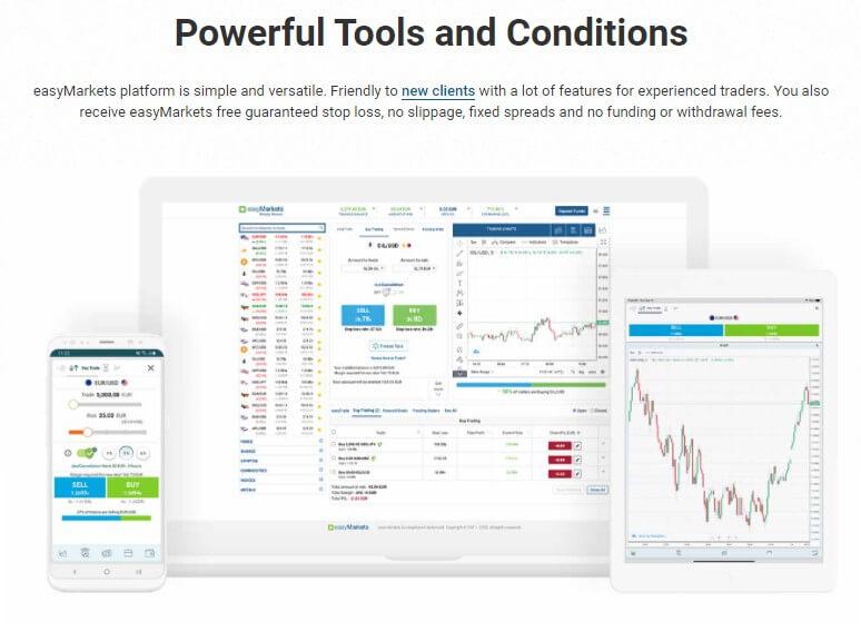 easymarkets trading paltform