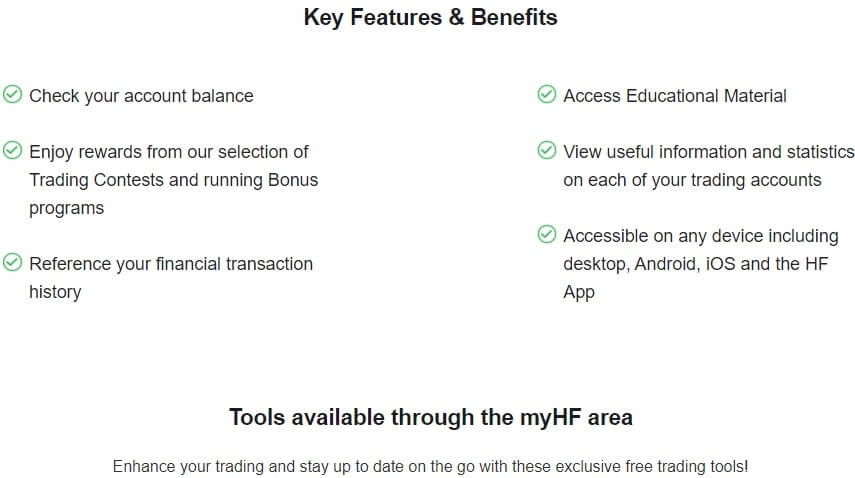 myHF are account