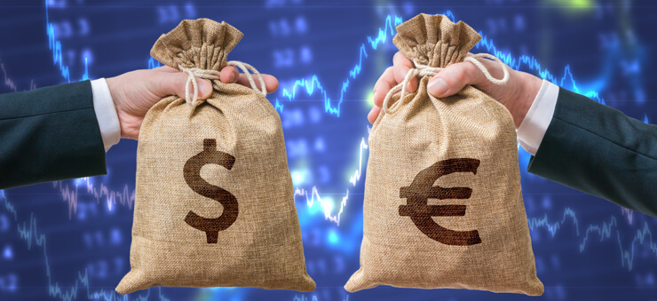 USD/EUR trading