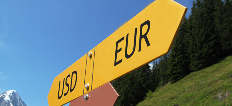 USD/EUR currency pair